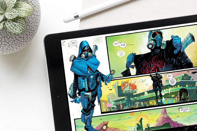 best tablets for reading comics