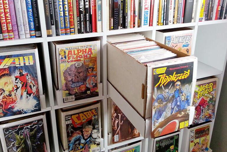 best way to store comics