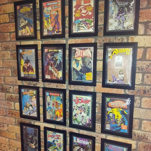 comic book storage frames