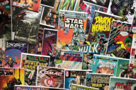 cleaning comic books